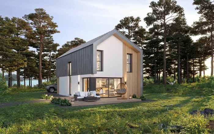 plan maison scandinave O2